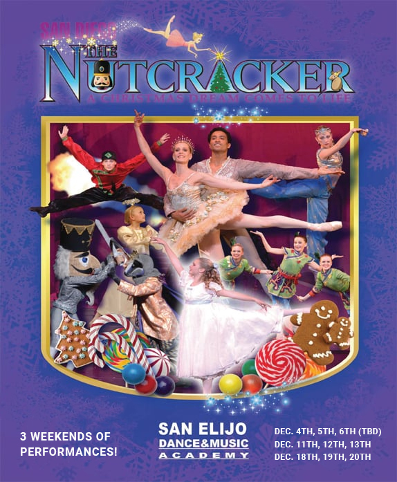 Nutcracker Auditions banner