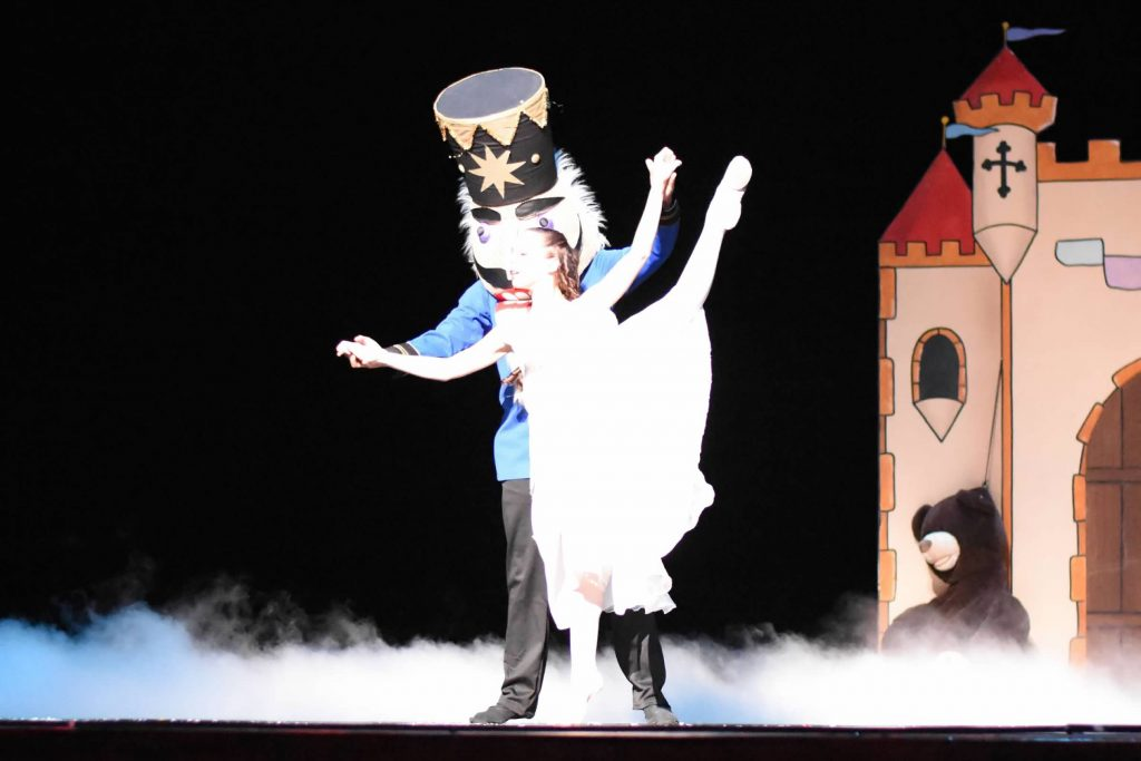 nutcracker dancing