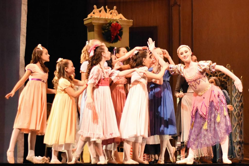 nutcracker on stage